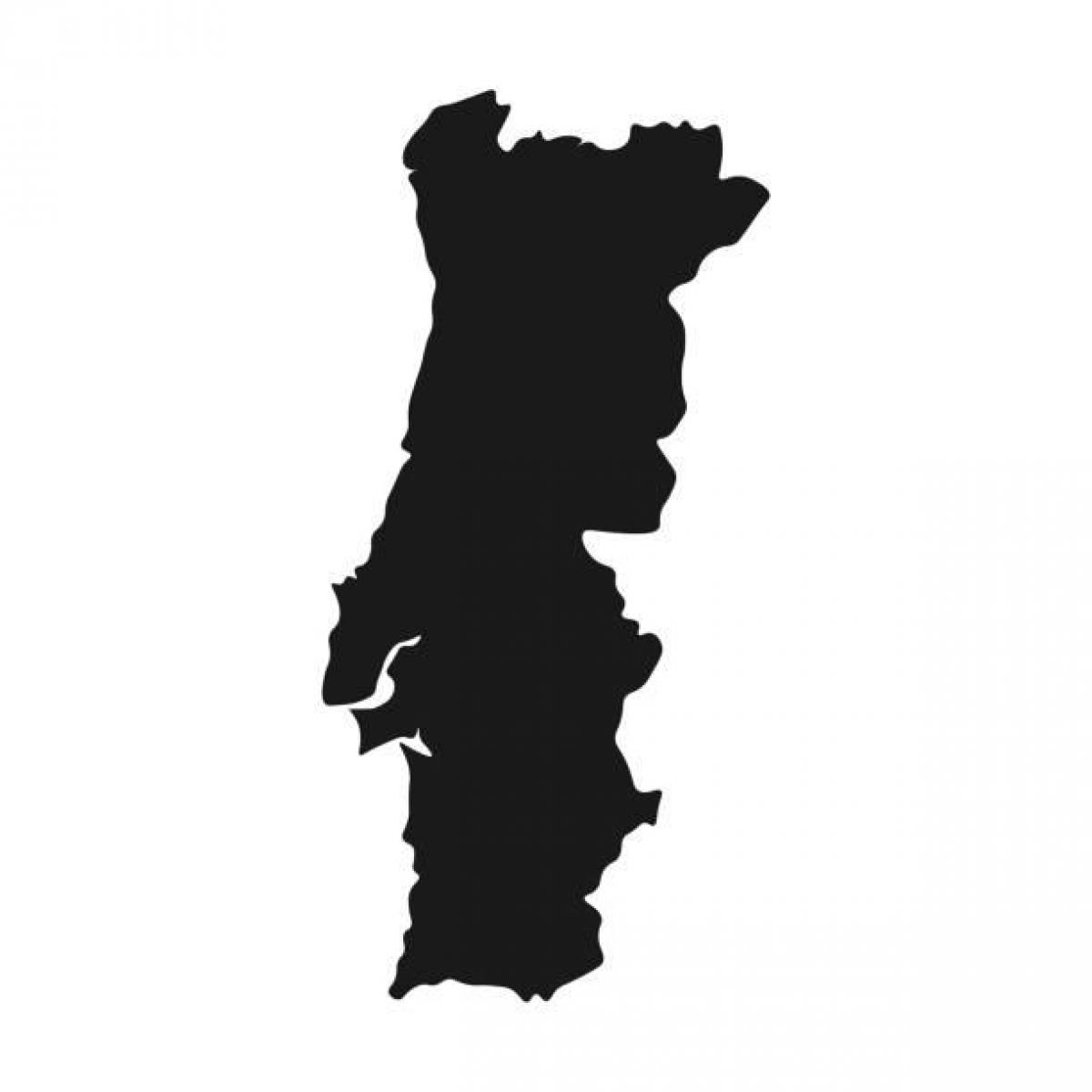 Portugal vectorkaart